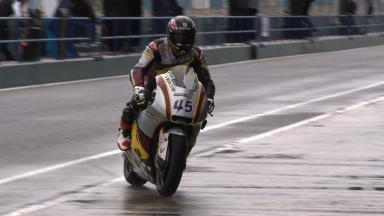 Video Highlights: Redding heads wet Moto2™ test
