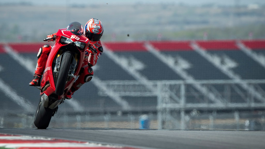 Nicky Hayden - Ducati 1199 Panigale Launch, COTA