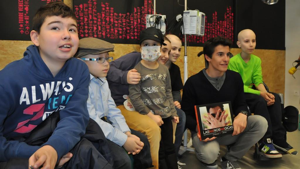 Marc Marquez - Proyecto solidario Sant Joan de Deu