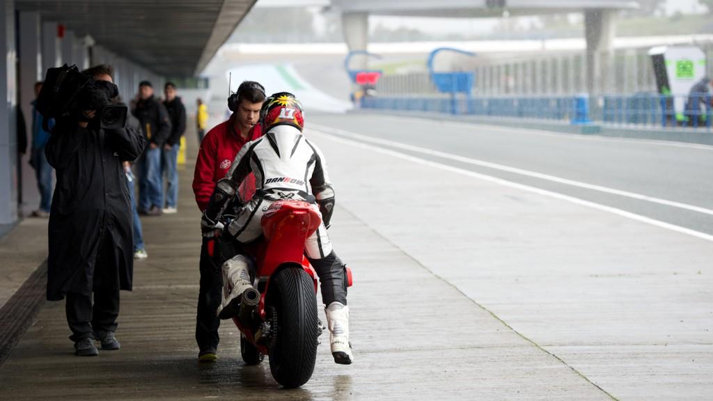 Albertro Moncayo, Arguiñano & Gines Racing - Official Test Jerez