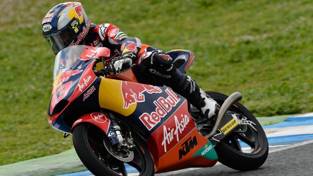 Zulfahmi Khairuddin, Red Bull KTM Ajo - Jerez Official Moto3™ Test