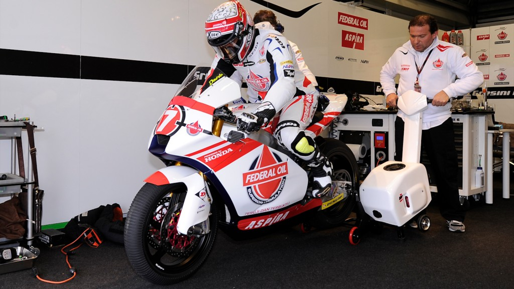 Doni Tata Pradita, Federal Oil Gresini Moto2 - Official Test Jerez