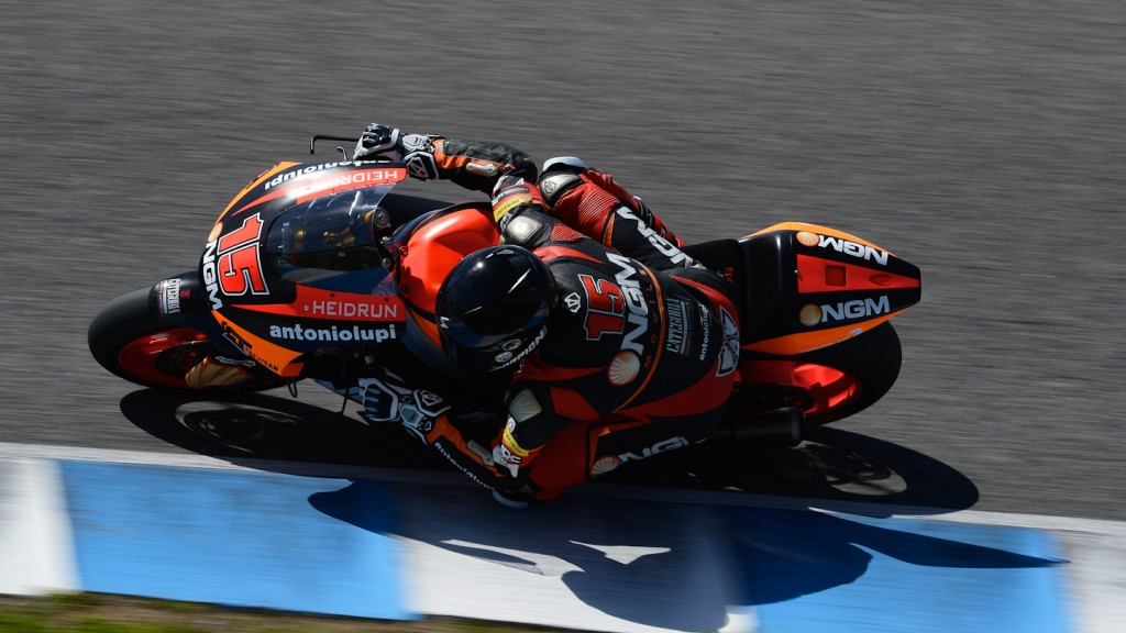 Alex De Angelis, NGM Mobile Forward Racing - Jerez Official Moto2™ Test