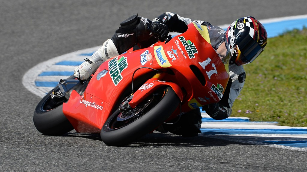 Albero Moncayo, Arguiñano & Gines Racing - Jerez Official Moto2™ Test