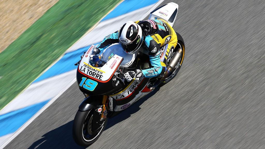 Xavier Simeon, Maptag SAG Zelos Team - Jerez Official Moto2™ Test