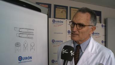 Dr. Xavier Mir explains Viñales recovery process