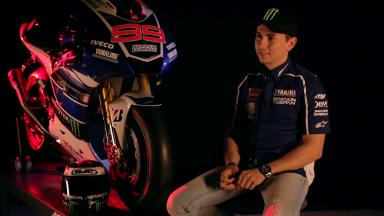 2013 Yamaha Launch - Inteview with Jorge Lorenzo