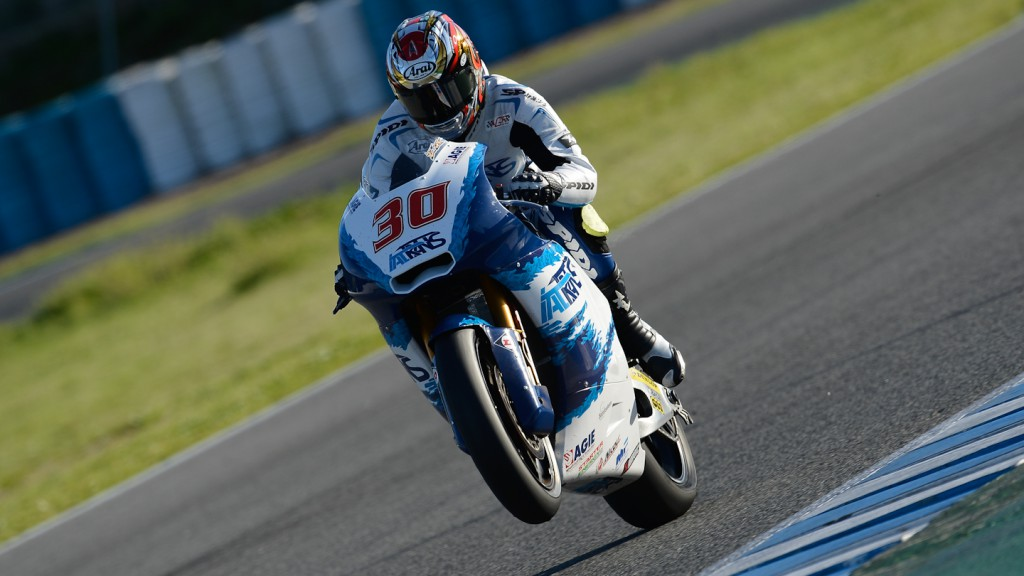 Takaaki Nakagami, Italtrans Racing Team - Jerez Official Moto2™ Test