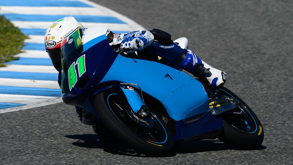 Brad Binder, Ambrogio Racing - Jerez Official Moto3™ Test