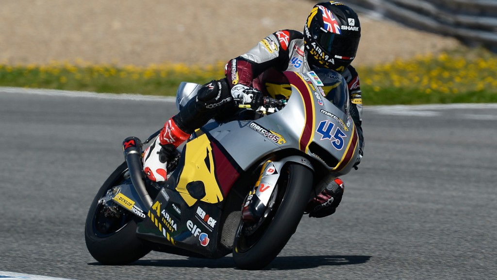 Scott Redding, Marc VDS Racing Team - Jerez Official Moto2™ Test
