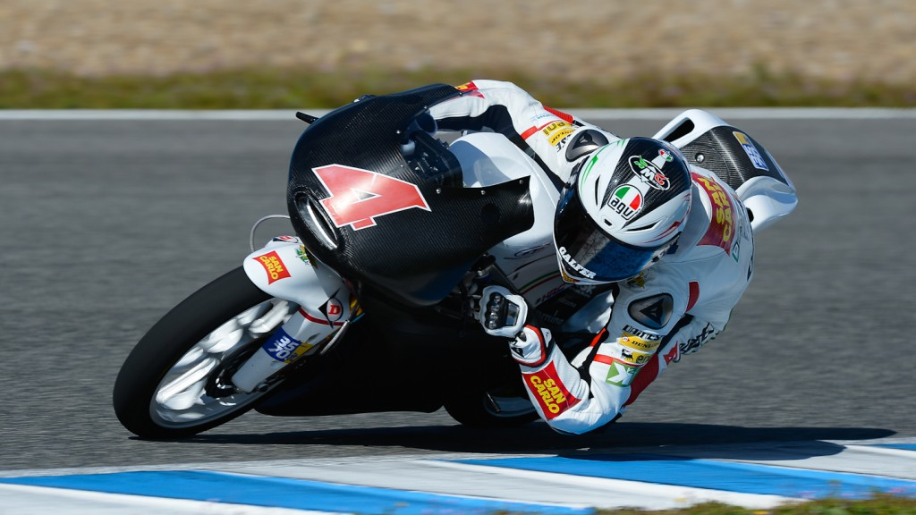 Francesco Bagnaia, San Carlo Team Italia - Jerez Official Moto3™ Test
