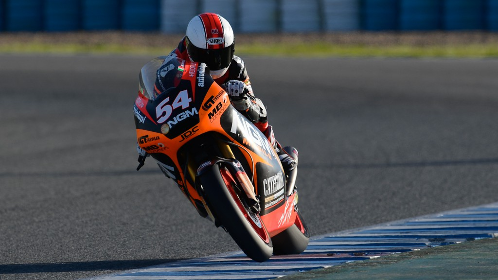 Mattia Pasini, NGM MObile Forward Racing - Jerez Official Moto2™ Test