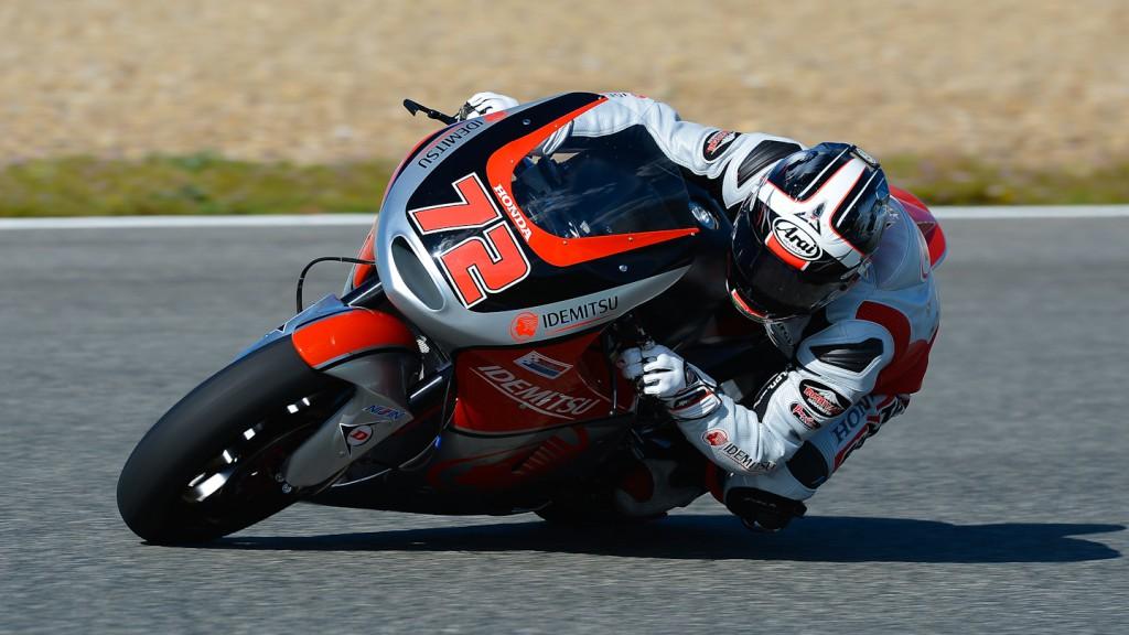 Yuki Takahashi, Idemitsu Honda Team Asia - Jerez Official Moto2™ Test