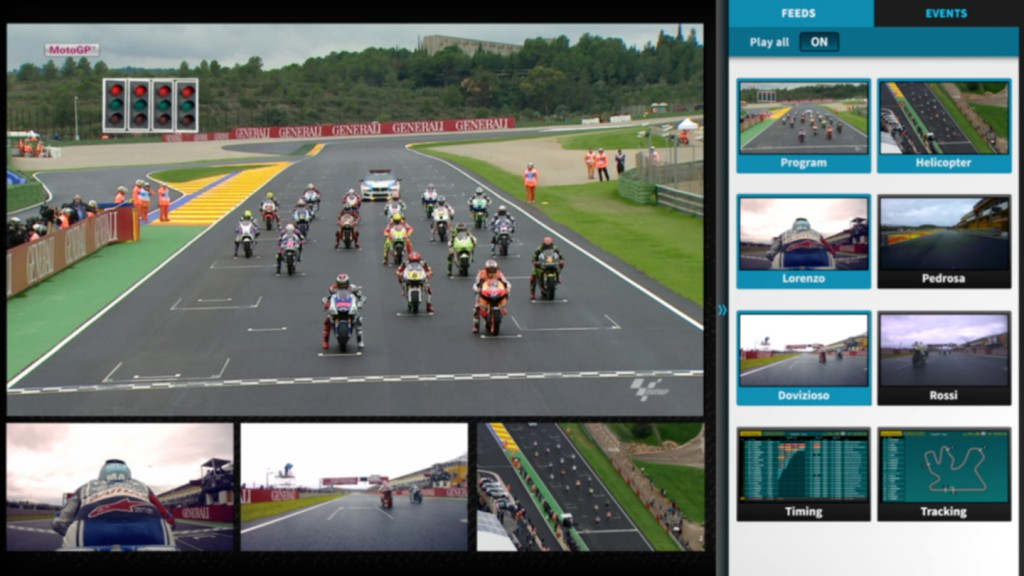 MotoGP MultiScreen Player