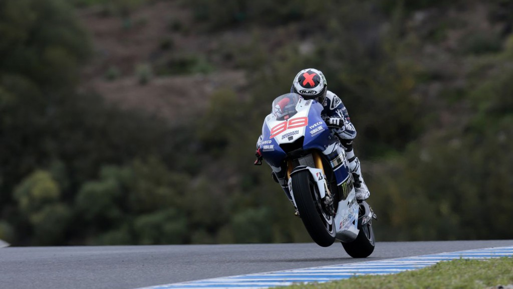 Jorge Lorenzo, Yamaha Factory Racing Team - Jerez Official MotoGP Test