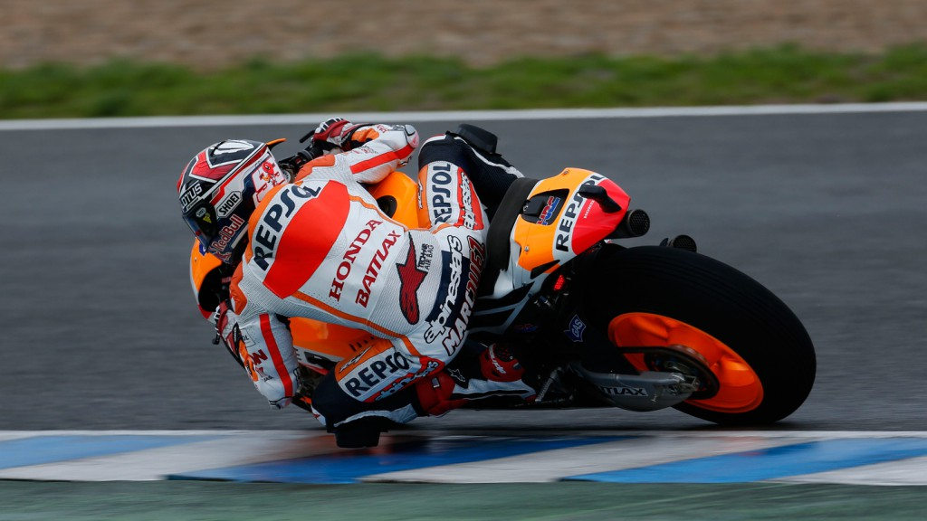 Marc Marquez, Repsol Honda Team - Jerez Official MotoGP Test