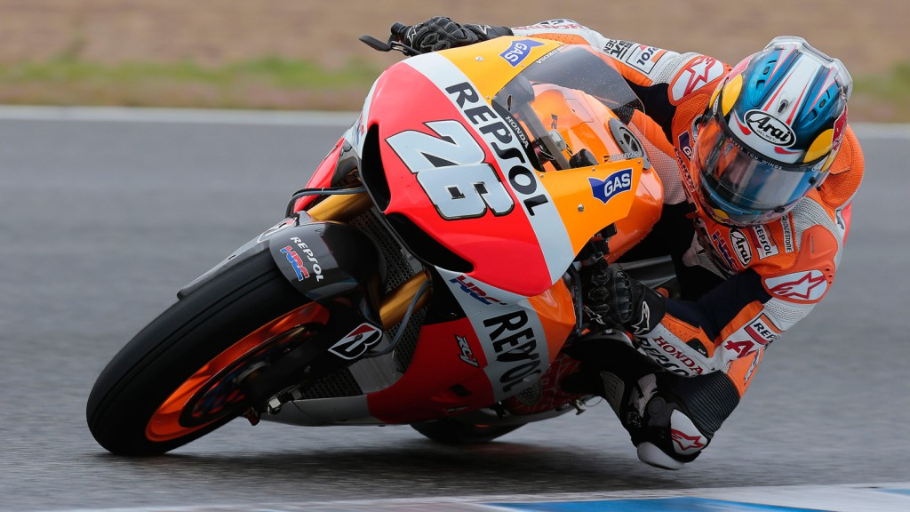 Dani Pedrosa, Repsol Honda Team - Jerez Official MotoGP Test