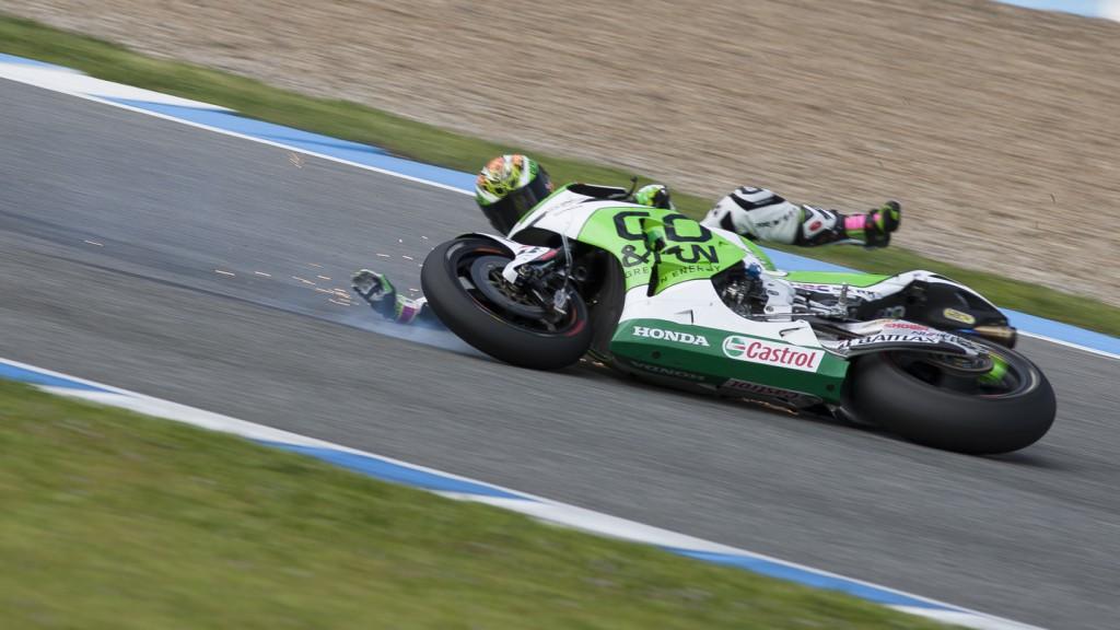 Alvaro Bautista, Go & Fun Honda Gresini, Jerez Test - © @shooterbikes