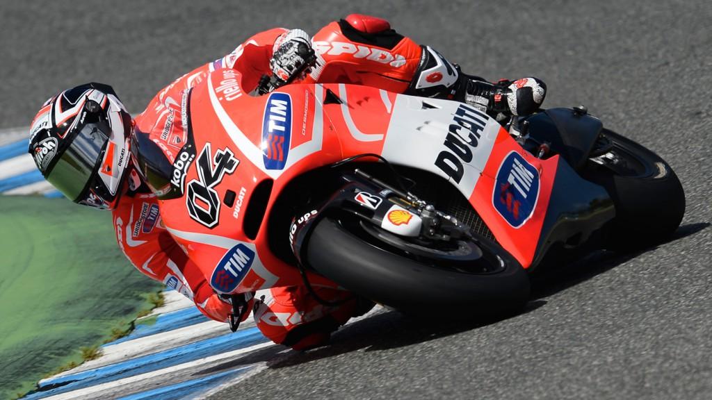Andrea Dovizioso, Ducati Team- Jerez Official MotoGP™ Test