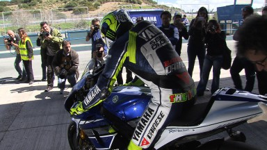 Valentino Rossi, Yamaha Factory Racing Team - Jerez Official MotoGP™ Test