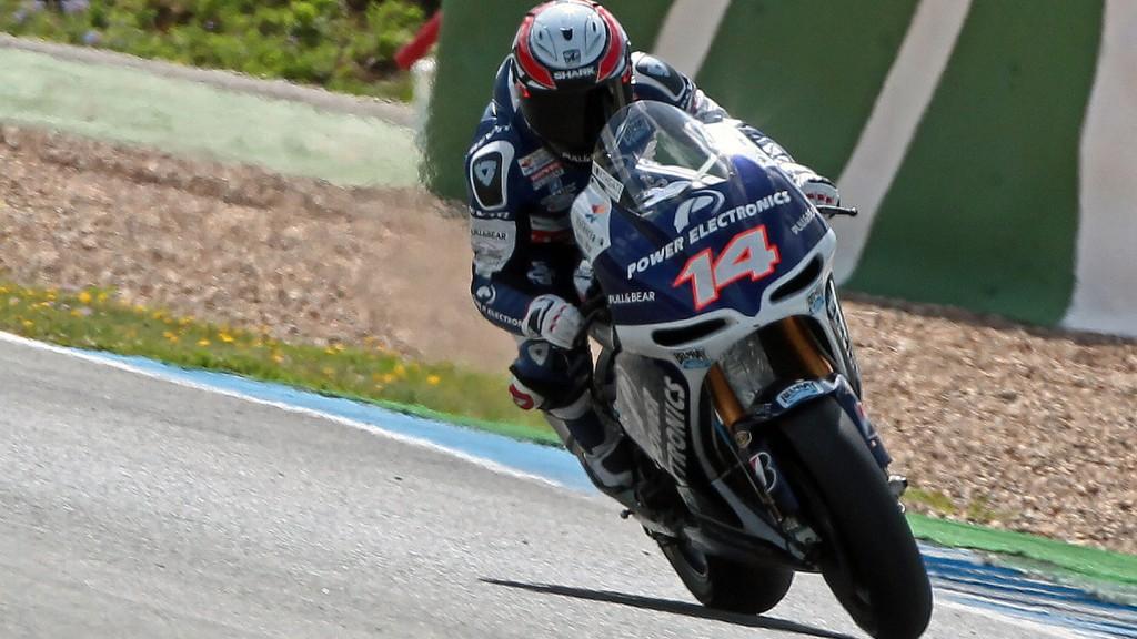 Randy de Puniet, Power Electronics Aspar - Jerez Official MotoGP Test