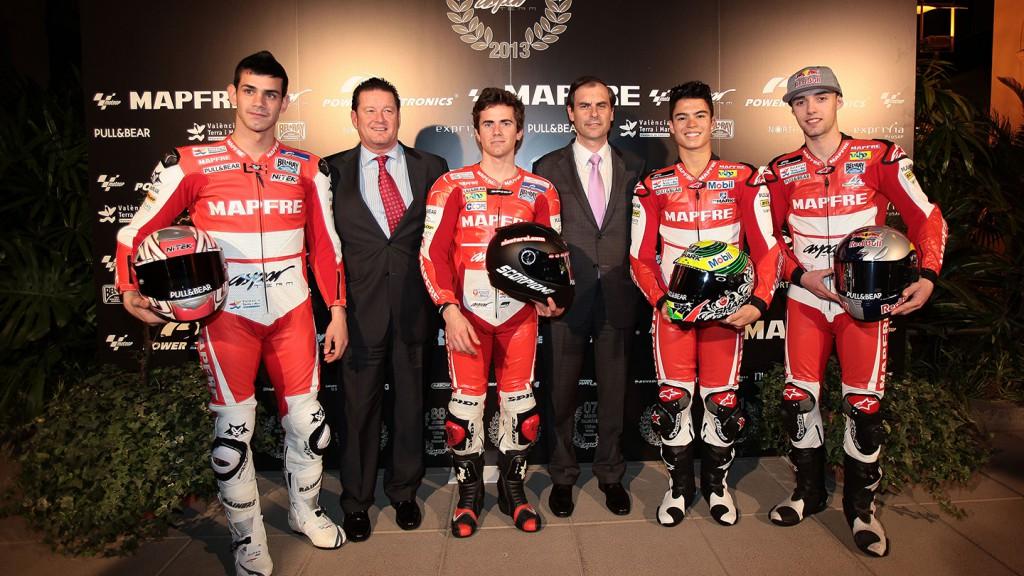 Mapfre Aspar Moto2 & Moto3 teams presentation