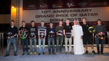 Qatar GP celebrates 10th anniversary