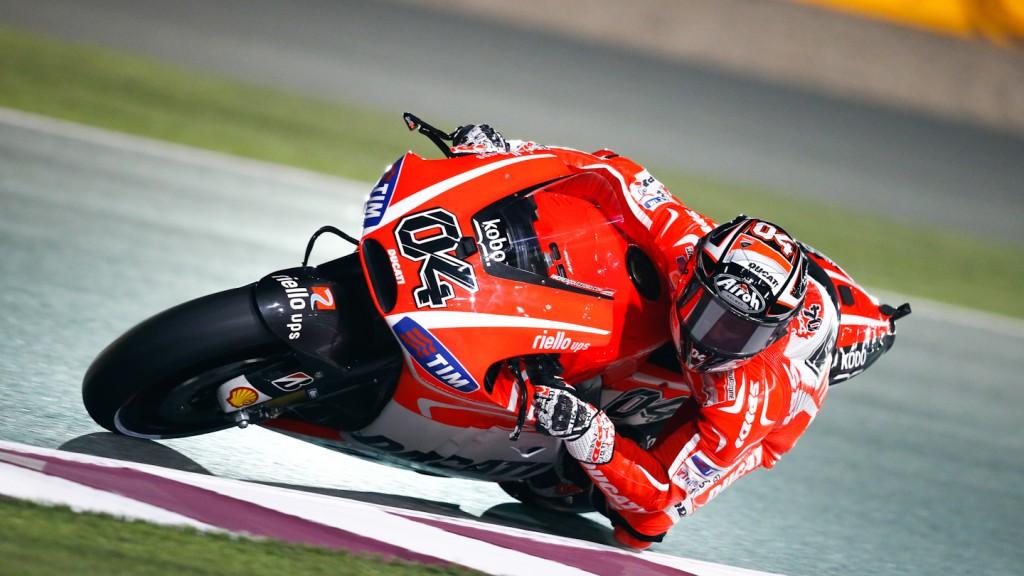 Andrea Dovizioso, Ducati Team, FP1