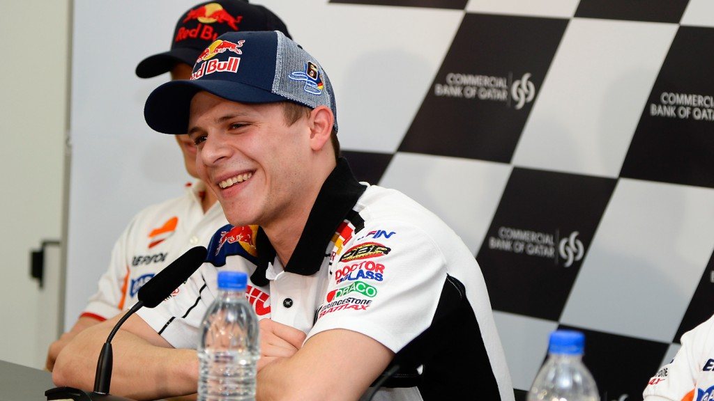 Stefan Bradl, Commercial Bank Grand Prix of Qatar Press Conference