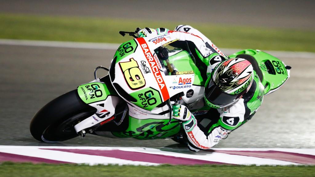Alvaro Bautista, GO&FUN Honda Gresini, Qatar FP1