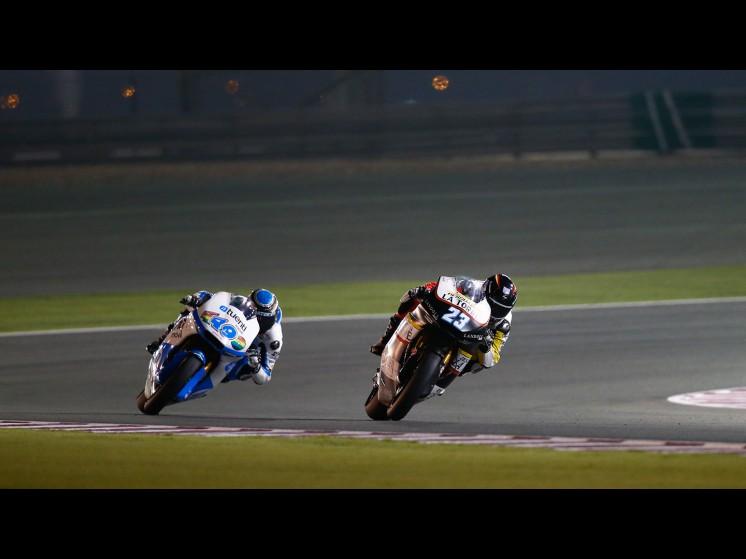 MotoGP Season 2013 - 23marcelschrotterjuevesmoto2 fp2qatar s1d0069 slideshow