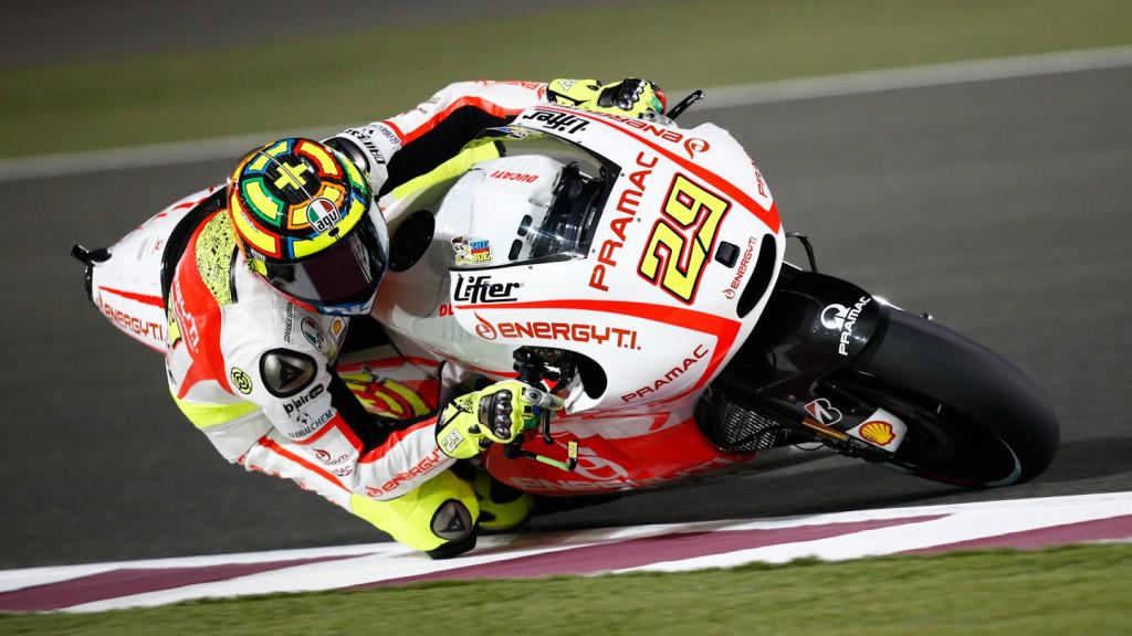 Andrea Iannone, Pramac Racing Team, Qatar FP1