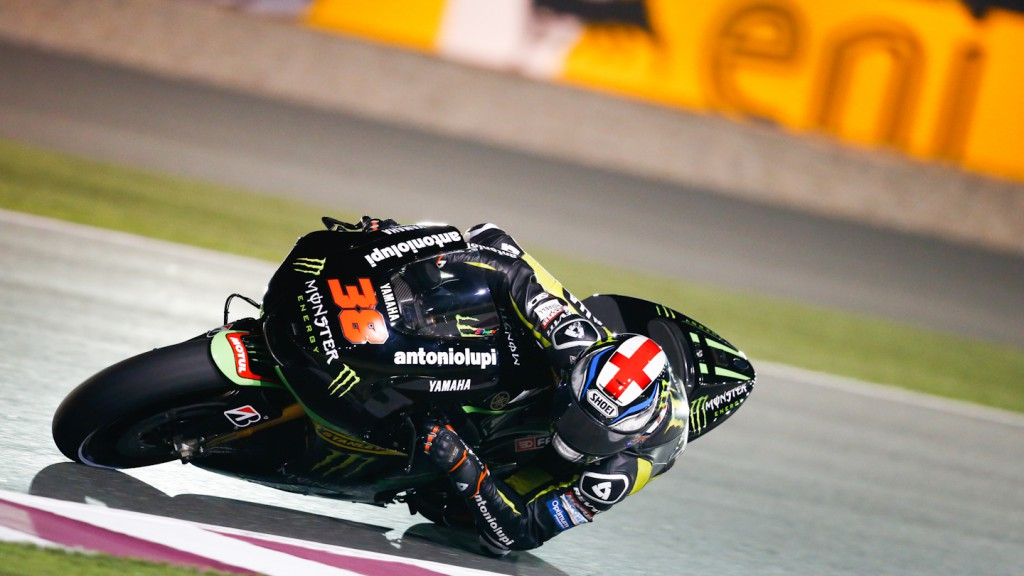 Bradley Smith, Monster Yamaha Tech 3, Qatar FP2