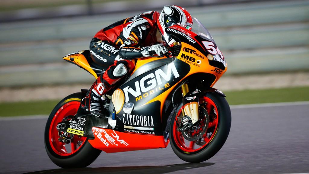 Mattia Pasini, NGM Mobile Racing, Qatar FP2