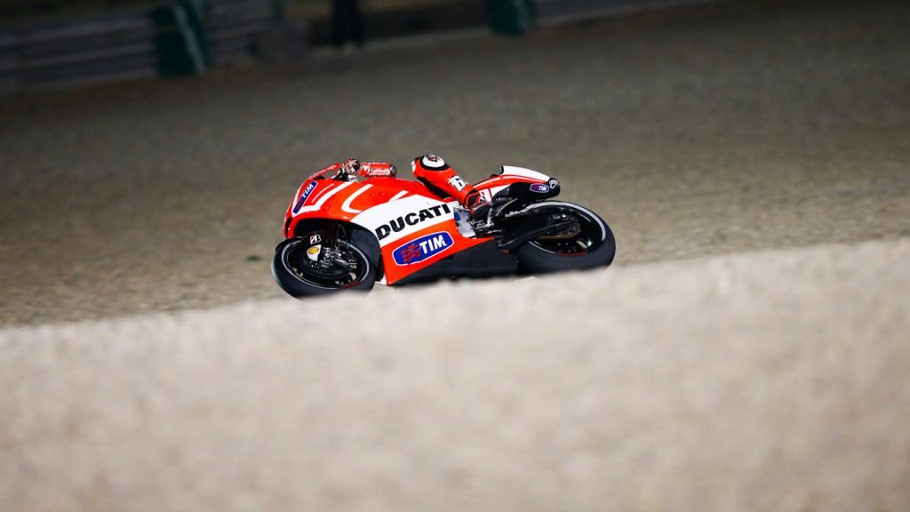 Nicky Hayden, Ducati Team, Qatar FP1