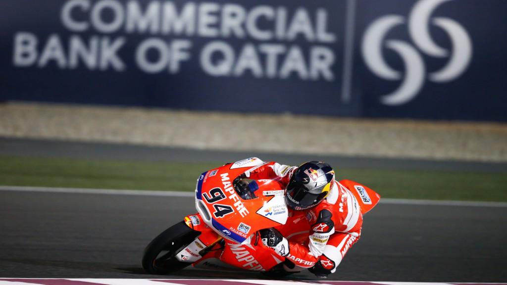 Jonas Folger, Mapfre Aspar Team Moto3, Qatar FP1
