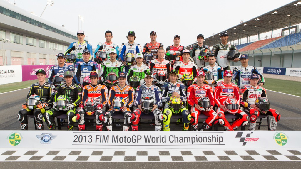 2013 MotoGP Line Up