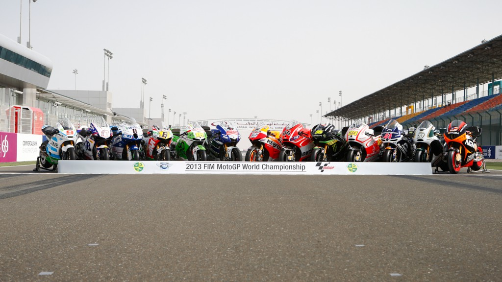 MotoGP 2013 Bikes