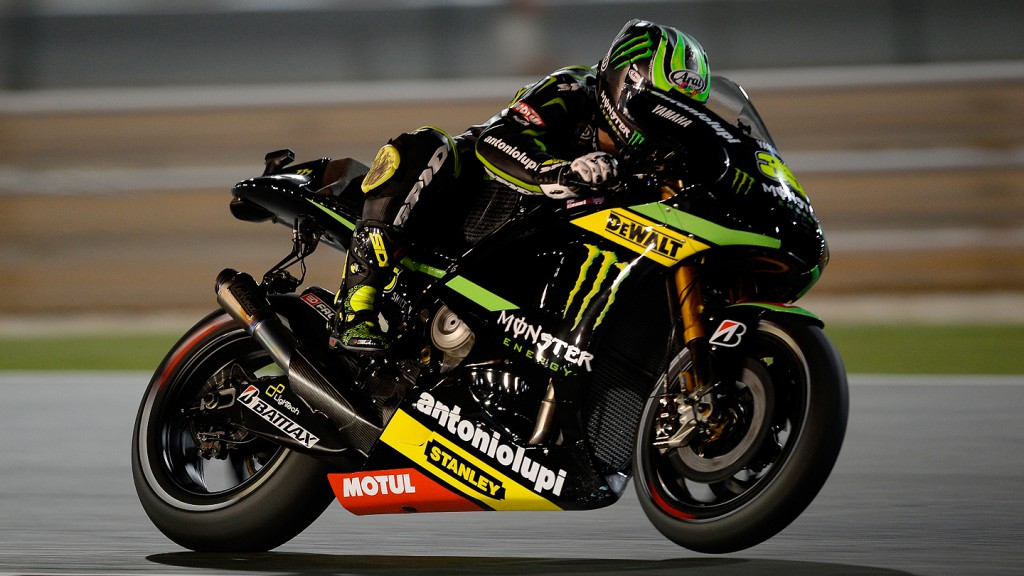 Cal Crutchlow, Monster Yamaha Tech 3, Qatar FP1