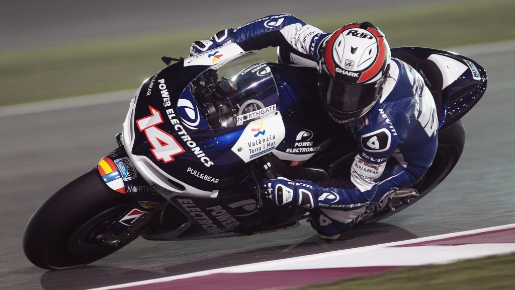 Randy de Puniet, Power Electronics Aspar, Qatar FP1