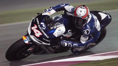 Randy de Puniet, Power Electronics Aspar, Qatar FP1