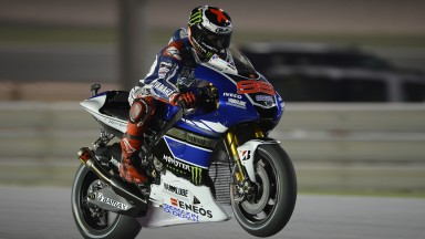 Jorge Lorenzo, Yamaha Factory Racing, Qatar FP1