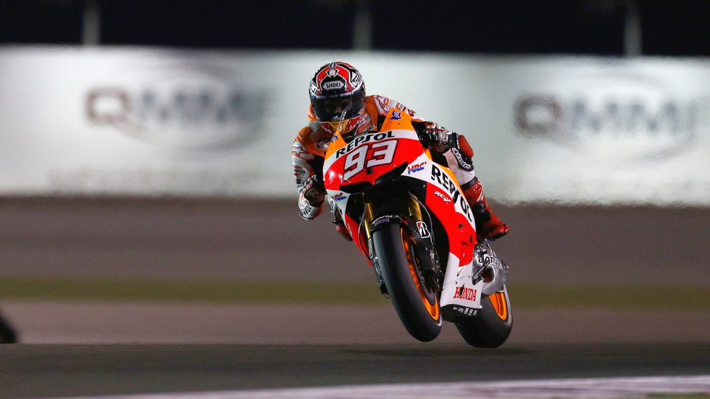 Marc Marquez, Repsol Honda Team, Qatar FP1