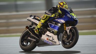 Valentino Rossi, Yamaha Factory Racing, Qatar FP1