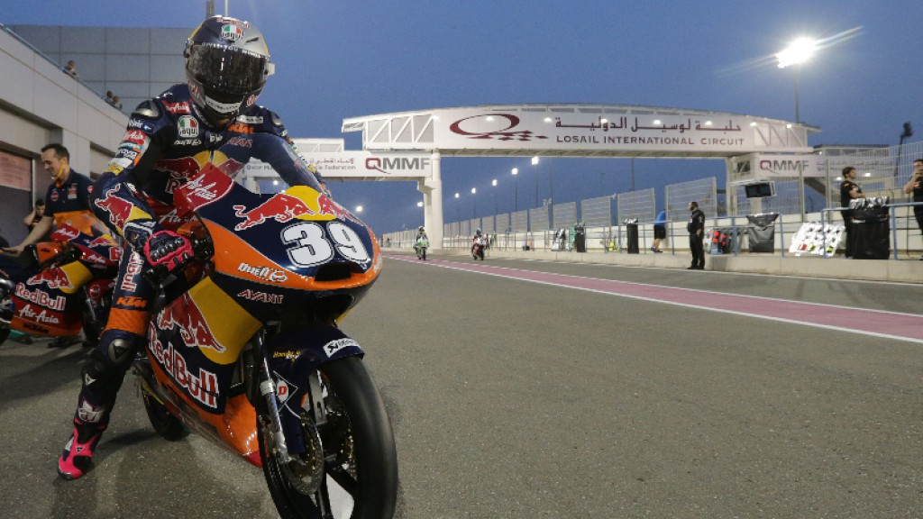 Luis Salom, Red Bull KTM AJo, Qatar FP2