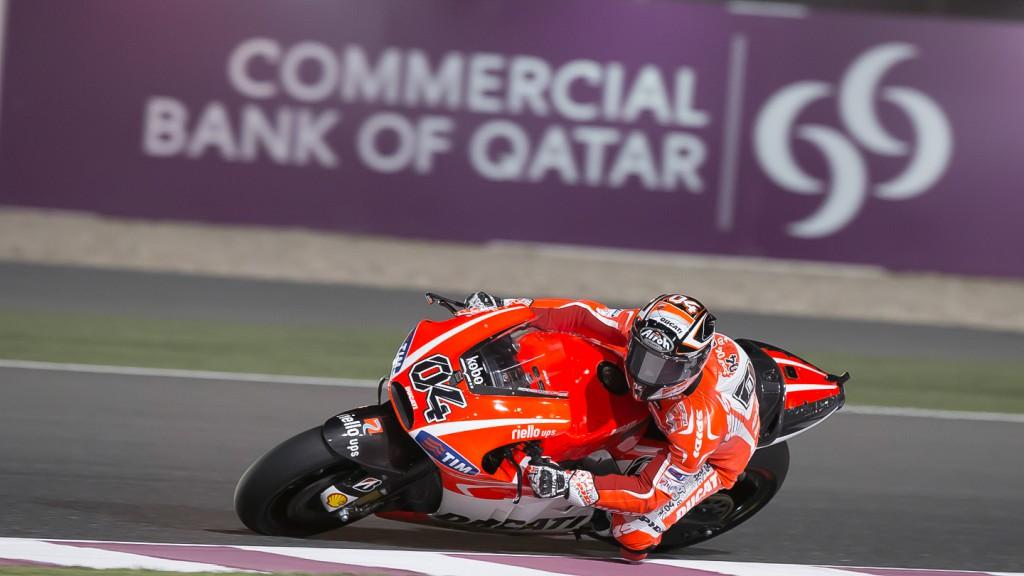 Andrea Dovizioso, Ducati Team, Qatar FP3