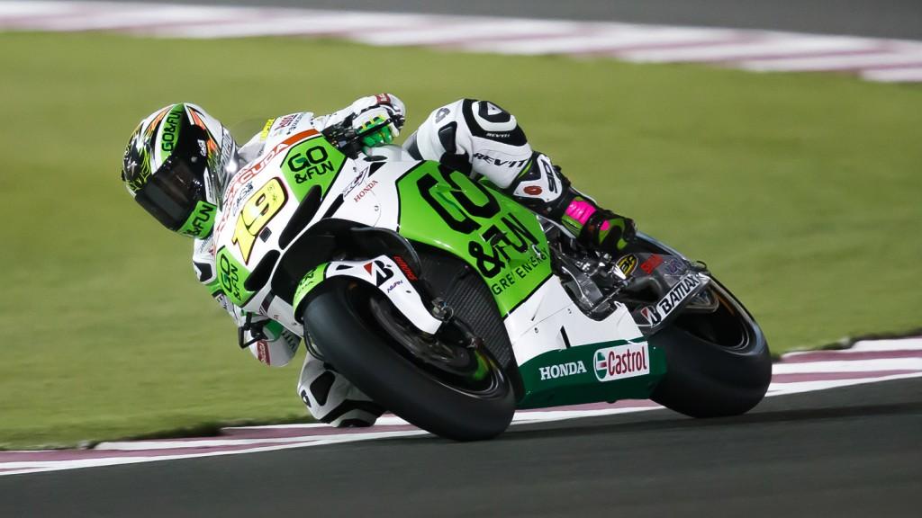 Alvaro Bautista, GO&FUN Honda Gresini, Qatar FP3