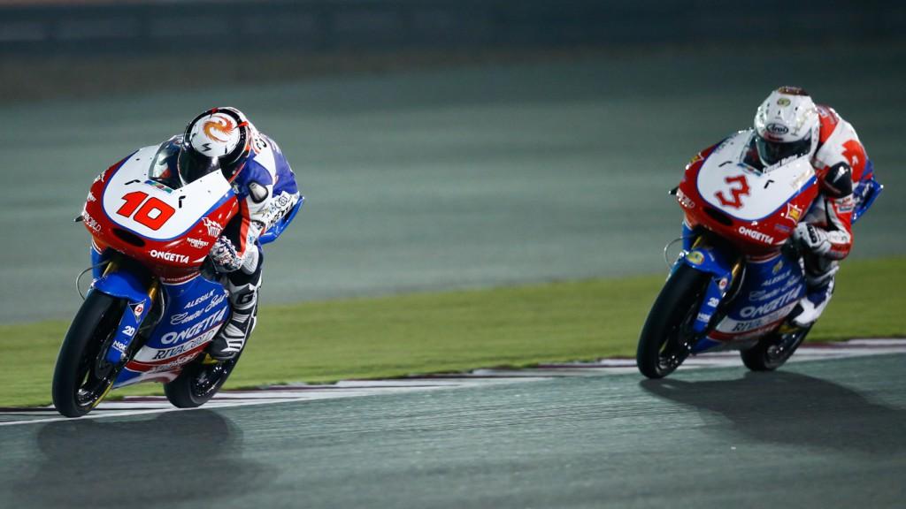 Alexis Masbou, Matteo Ferrari, Ongetta-Centro Seta, Ongetta-Rivacold, Qatar FP3