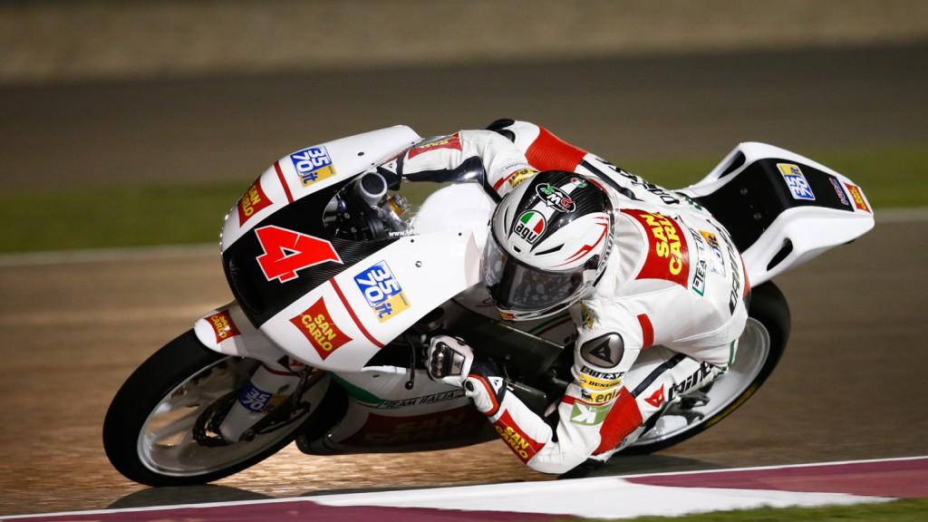 Francesco Bagnaia, San Carlo Team Italia, Qatar FP3
