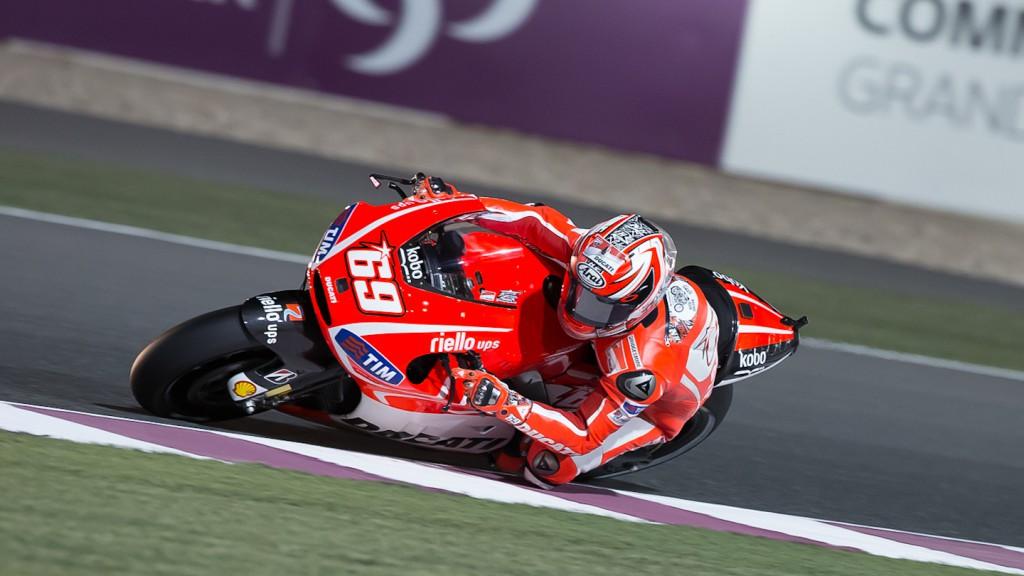 Nicky Hayden, Ducati Team, Qatar FP3